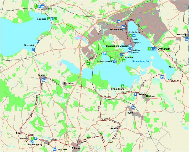 Tour de Skanderborg Sø